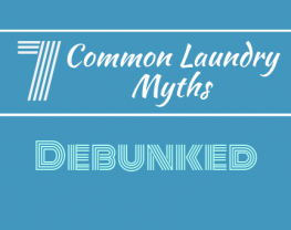 Common laundry myths