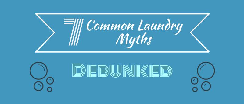 Common laundry myths