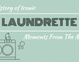 Iconic laundrette moments