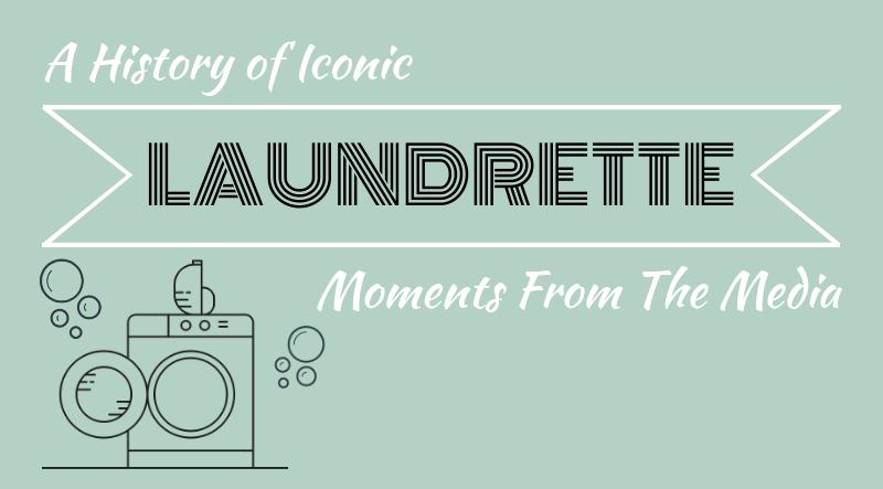 Iconic laundrette moments