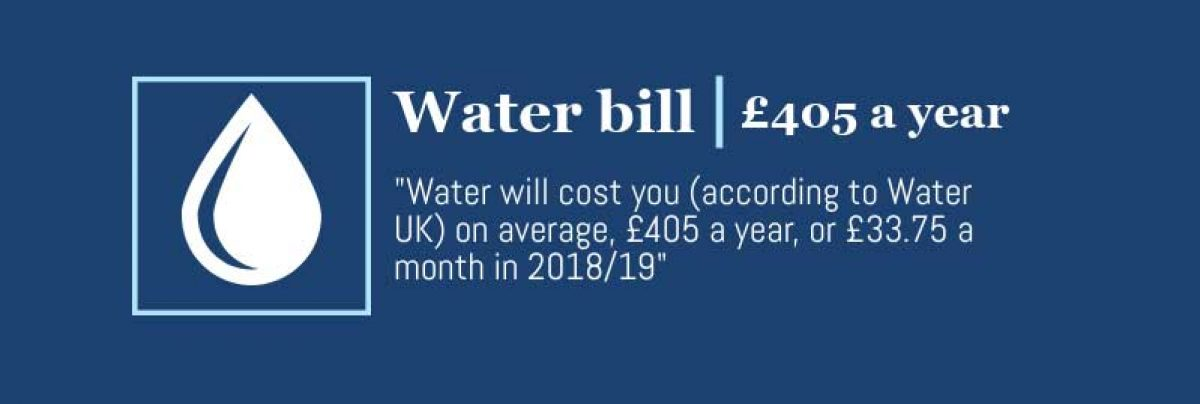 average water bill